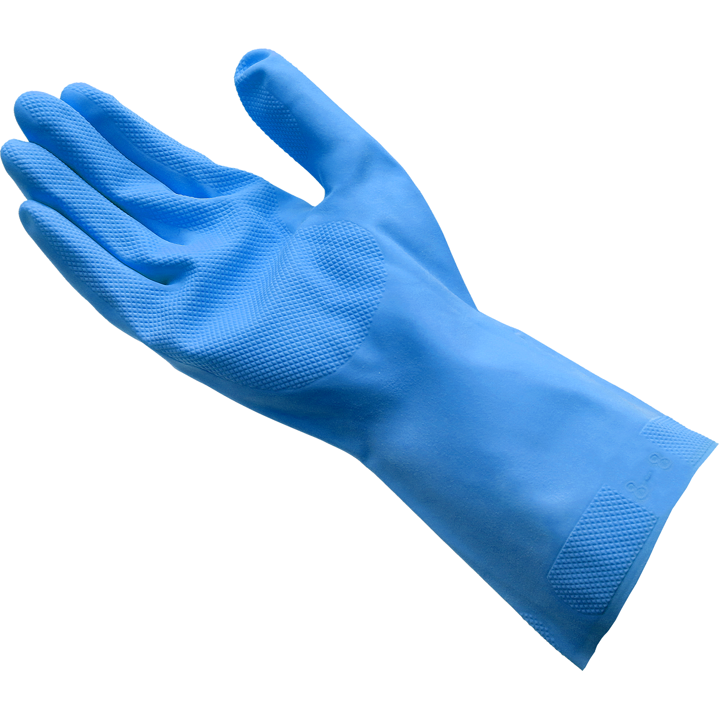 SHIELD ühekordsed puudrivabad sinised nitriilkindad