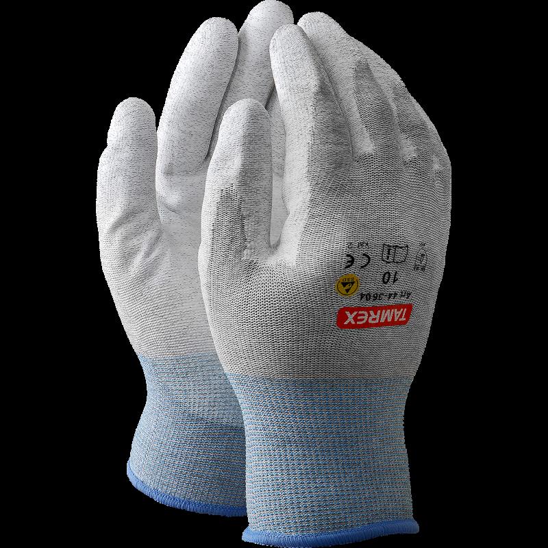MAPA ULTRAFOOD 475 синие нитриловые хозяйственные перчатки