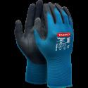 SNICKERS Workwear Hi-Vis FlexiWork ripptaskutega tööpüksid, klass 2