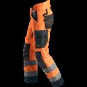 SNICKERS Workwear AllroundWork Hi-Vis fliis, klass 2