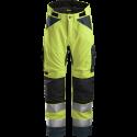 SNICKERS Workwear AllroundWork Hi-Vis флисовая кофта, класс 3