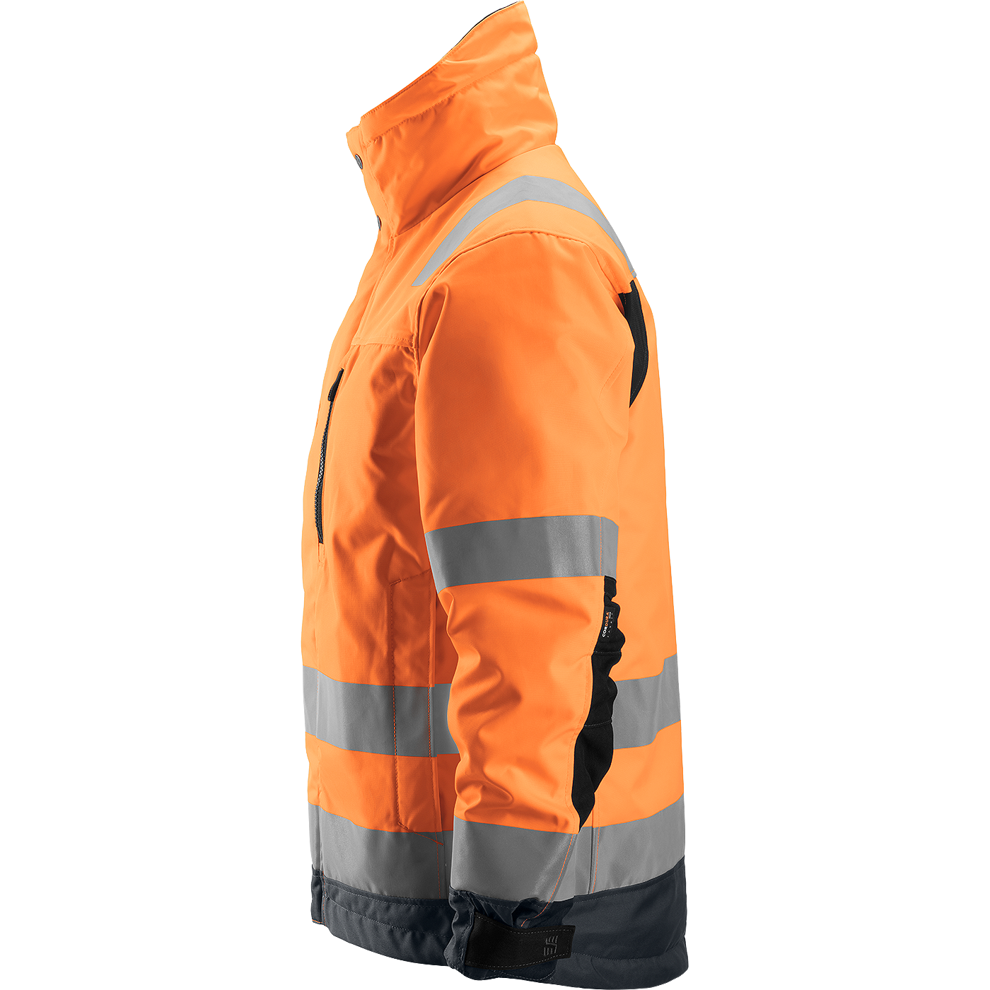 SNICKERS Workwear FlexiWork Hi-Vis ripptaskutega lühikesed tööpüksid, klass 1