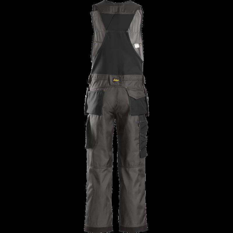 SNICKERS Workwear Hi-Vis puskombinezonis su kabančiomis kišenėmis