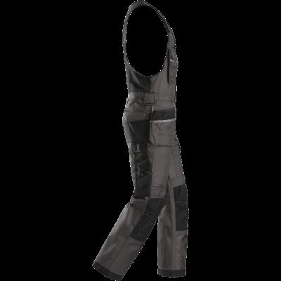SNICKERS Workwear Canvas+ puskombinezonis su kabančiomis kišenėmis
