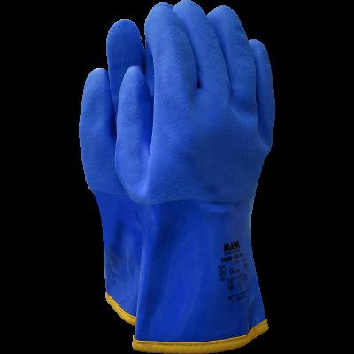 MAPA Superfood 165 mėlynos latekso pirštinės