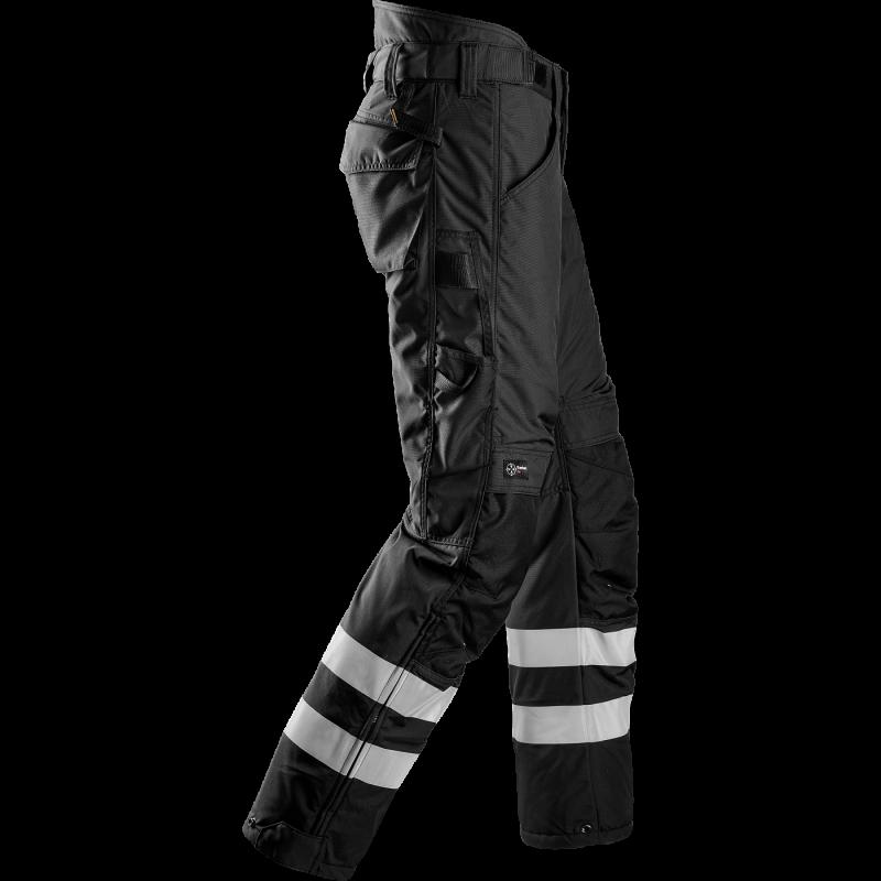 SNICKERS Workwear FlexiWork darbinės kelnės su kabančiomis kišenėmis