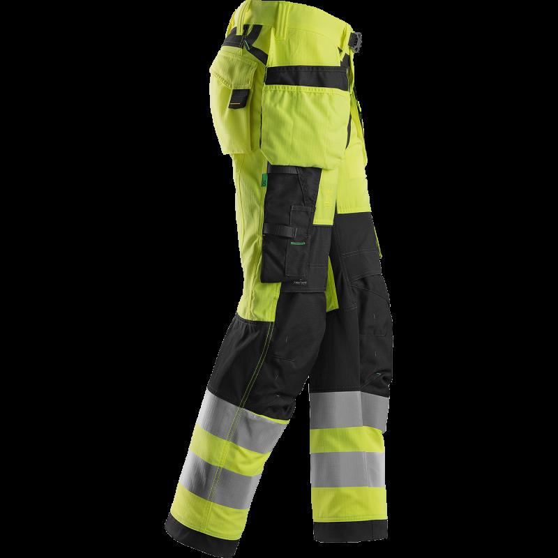 SNICKERS Workwear LiteWork Vision darbinės kelnės su kabančiomis kišenėmis