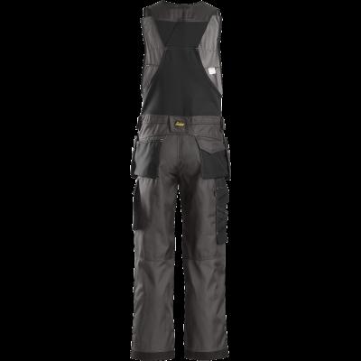 SNICKERS Workwear Hi-Vis puskombinezons ar nokarenām kabatām