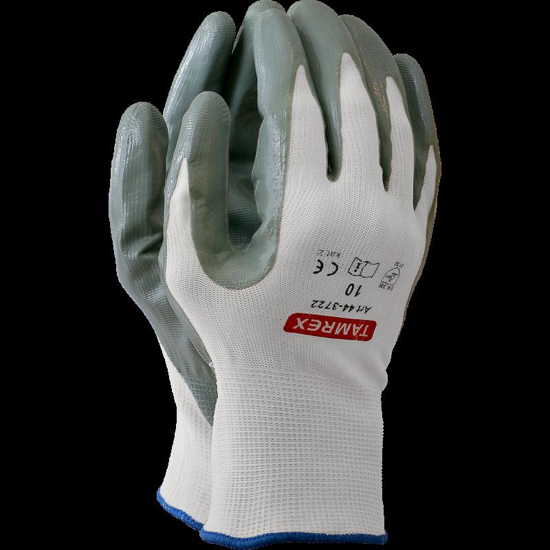 TAMREX детские рабочие перчатки из синтетической кожи с Hi-Vis на тыльной стороне ладони