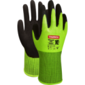 SNICKERS Workwear Hi-Vis FlexiWork darba bikses ar nokarenām kabatām, klase 2