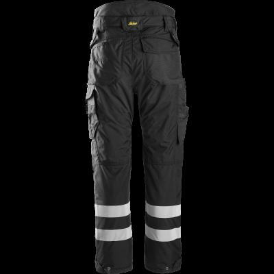 SNICKERS Workwear FlexiWork pusgarās darba bikses ar nokarenām kabatām