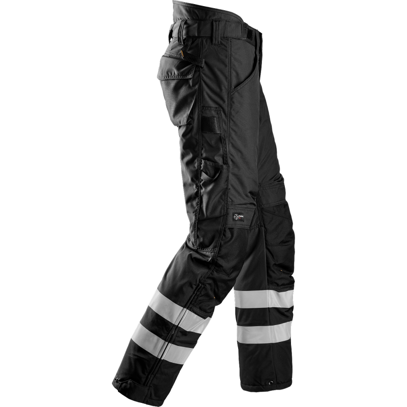 SNICKERS Workwear FlexiWork darba bikses ar nokarenām kabatām