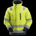SNICKERS Workwear LiteWork Hi-Vis пиратские штаны с навесными карманами, класс 2