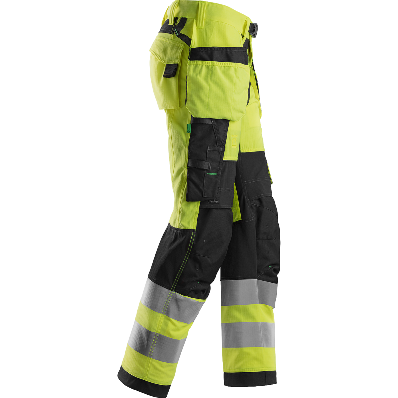 SNICKERS Workwear LiteWork Vision darba bikses ar nokarenām kabatām