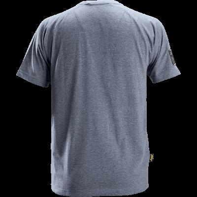 SNICKERS Workwear AllroundWork Hi-Vis T-krekls ar garām piedurknēm, 2. klase