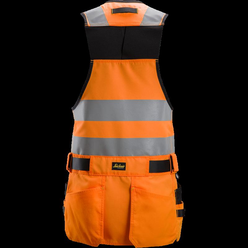 SNICKERS Workwear AllroundWork elastīga auduma darba bikses ar nokarenām kabatām